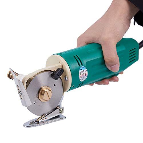 110/220V 70mm Rotary cortador de tela eléctrico de hoja redonda eléctrico paño...
