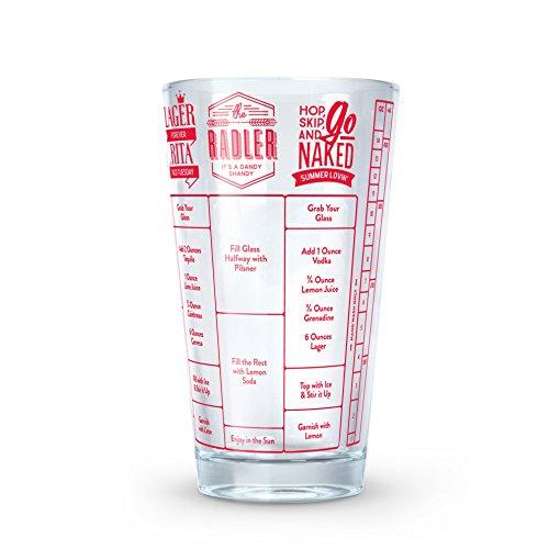 Fred Good Measure Cocktail-Rezept-Glas, Bier