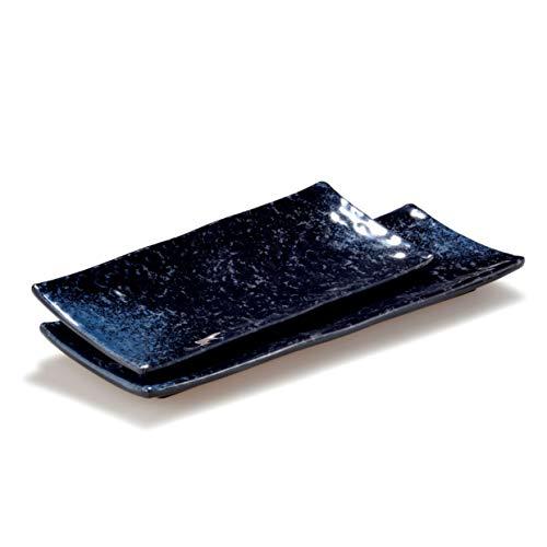 Pujadas P22.781 Elegance Plateau rectangulaire en mélamine 32 x 12 cm Hauteur 2,5 cm