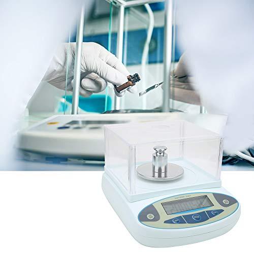 5000g 0,01g Digitales Pr/äzisionswaagenlabor mit elektronischer Waage f/ür Reserch Jewelry 100-240V Laboranalysenwaagen EU