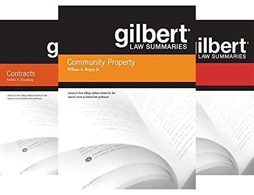 Gilbert Law Summaries (36 Book Series)
