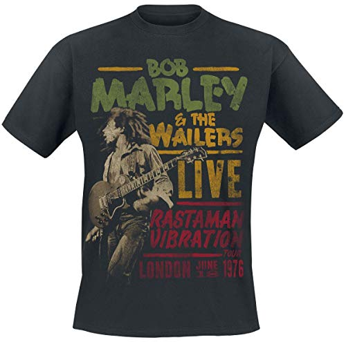 Bob Marley Rastaman Live T-Shirt Noir XXL