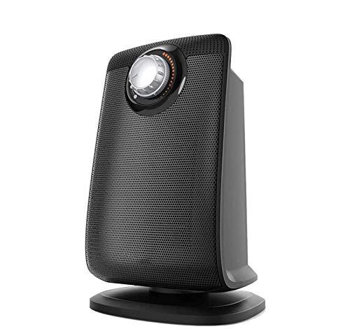 Eléctrico portáti de Aire Personal calefactor Calentador de espacio con un calentador seguro de cerámica portátil impermeable IP21 con termostato ajustable Calefacción rápida Ideal para Hogar Oficina