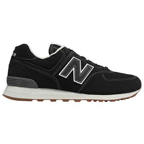 New Balance Sneaker Herren ML574ESE Schwarz Black, Schuhgröße:42