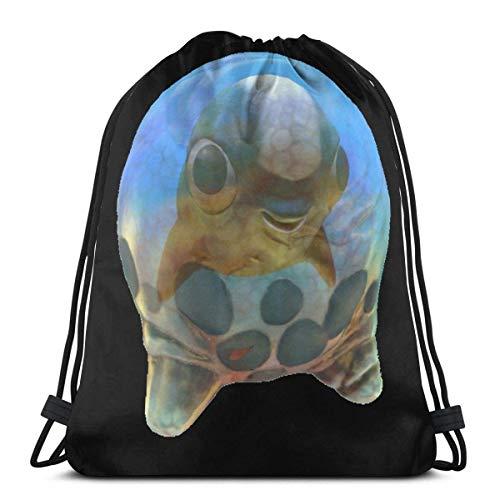 Shoulder Drawstring Bag Subnautica Cuddlefish Egg Backpack Sport Bag String Bags School Rucksack Gym Travel Pouch Lightweight