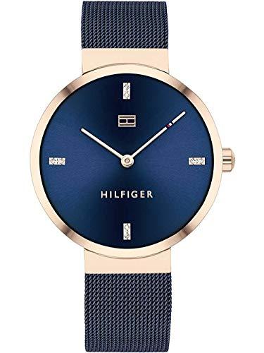 Tommy Hilfiger Reloj Analógico para Mujer de Cuarzo con Correa en Acero Inoxidable 01782219