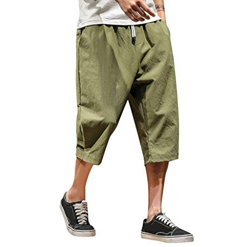 Yowablo Arbeitsschutzhose Berufsbekleidung Jeanshose Schlupfjeans Overall Jumpsuit Trainingsanzug Trainingshose Jogpants Sportanzug Jogginganzug (3XL,Armeegrün)