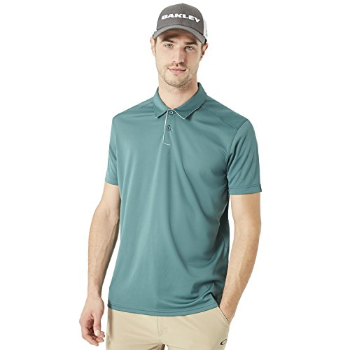 Oakley 433690 Men's Divisional Golf Polo Shirt, Balsam - X-Large