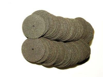 Slijpschijven 100 stuks 0,3 mm, fijne slijpschijf voor Mandrell Dentallabor modelbouw tandtechnicsapeerschijf