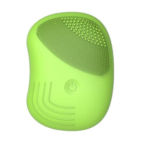 DOITOOL 1 cepillo facial, cepillo de limpieza facial de silicona, limpiador vibratorio facial, cepillo facial para limpieza profunda