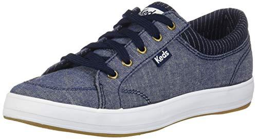 Keds Women's Center Sneaker, Navy, 10