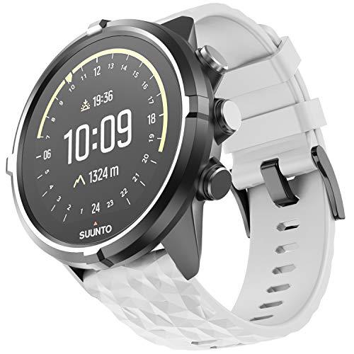 ANBEST 24mm Ersatz Armbänder weichem Silikon Armband für Suunto 7/Suunto 9 Baro, kompatibel mit Suunto 9/Suunto Spartan Sport Wrist HR/Suunto D5 Smart Watch