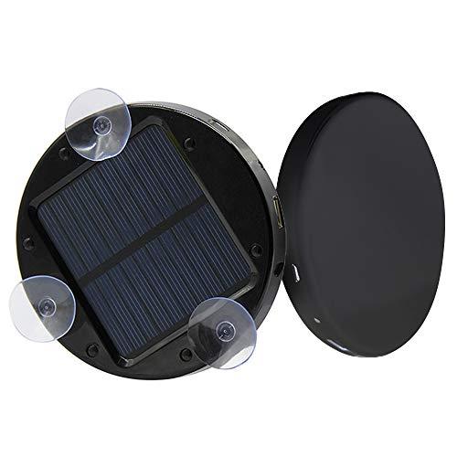 Flytise Solar Window Suck Power Bank Fuente de alimentación móvil de Emergencia Cargador de teléfono móvil Negro/Blanco/Verde/Amarillo/Azul 1800/2600 / 5200mAh