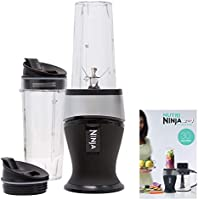 Ninja Personal Blender for Shakes, Smoothies, Food Prep, and Frozen Blending with 700-Watt Base and (2) 16-Ounce Cups...