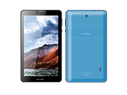 InnJoo Tablet 7' F704, 3G, Android 6, 1Gb RAM, 16Gb Memoria Interna, Color Azul (IJ-F704-BLUE)