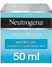Neutrogena Face Moisturizer Water Gel, Hydro Boost, Normal to Combination Skin, 50 ml