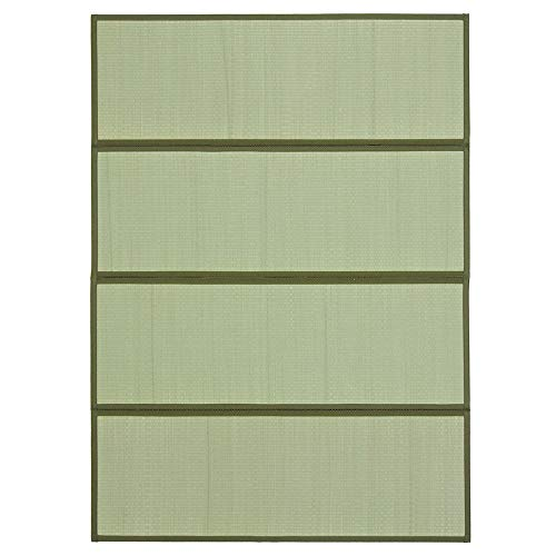 "MIINA Japanese Traditional Igusa (Rush Grass) Tatami Mattress, Japanese Floor Mattress, (Full, Natural) 55"" x 78"""