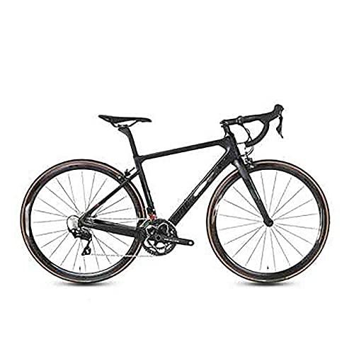 WXXMZY Bici Da Strada In Fibra Di Carbonio, Bici Da Strada In Fibra Di Carbonio 700C, Dotata Di Sistema Di Trasmissione A 22 Velocità E Freni A Disco (Color : G, Size : 450mm)