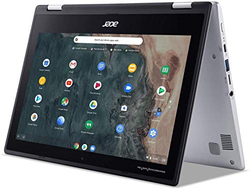Acer Chromebook Spin 311 Convertible Laptop, 11.6' HD Touchscreen, Intel Celeron N4020 Processor, 4GB LPDDR4 Memory, 32GB eMMC, Online Class/Online Meeting Ready, Chrome OS, KKE 64GB MicroSD Card