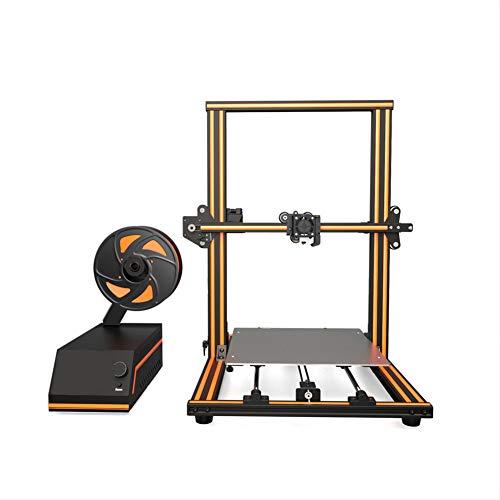 H&1 DIY Imprimante 3D, Boîtier Métal Fonction Automatique De Mise À Niveau De L'extrudeuse De Haute Précision, Formant Le Volume 300 * 300 * 400Mm