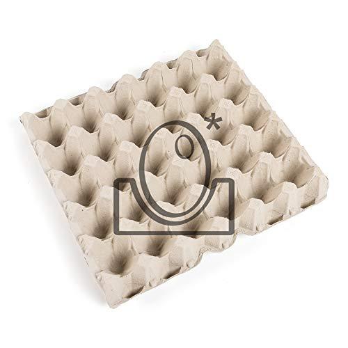 120 Bandejas de cartón 30 X 30 cm Gris.