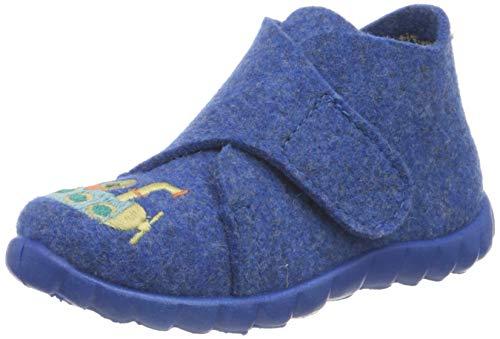 Superfit Baby - Jungen, Hausschuh, Blau(BLAU 8000), 20 EU