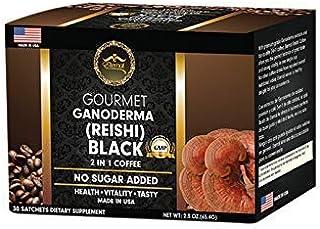 Eternal Gourmet Ganoderma (REISHI) Black Coffee 2 in1 Made in USA Cafe Negro con ganoderma Eternal