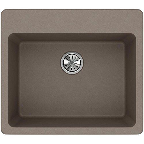 Elkay Quartz Classic ELG2522GR0 Greige Single Bowl Top Mount Sink