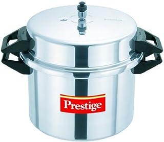 Prestige PPAPC20 Popular Pressure Cooker, 20 Liter, Silver