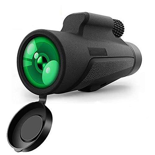 Telescopio monocular, 10X42 de Alta Potencia monocular Bird Watching HD Smartphone con el sostenedor y el trípode FMC BAK4 Prisma Impermeable a Prueba de Niebla, al Aire Libre Senderismo, Caza