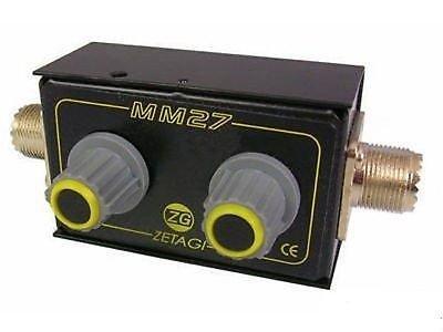 ZETAGI mm-27Anpassungsnetzwerk–Antenne Matcher 26–28MHz Cod.33027Wasser