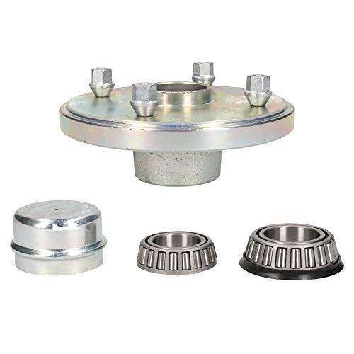 DrillMan Anhänger-Radnabe 139,7 mm, PCD-Lager, Radschrauben und Kappen, Indespensions-Design