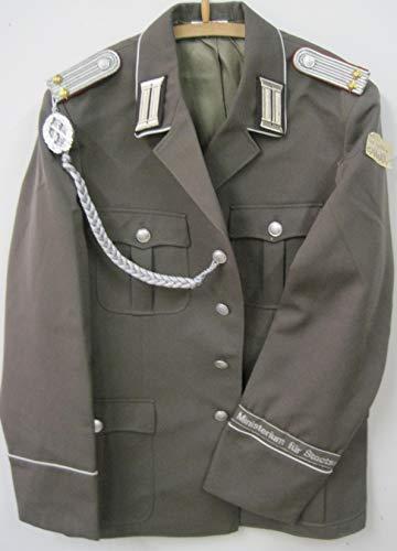 VEB NVA Offizier Uniform Jacke Gr. 52 Schützenschnur, Effekten, Fasching, Karneval, Kostüm