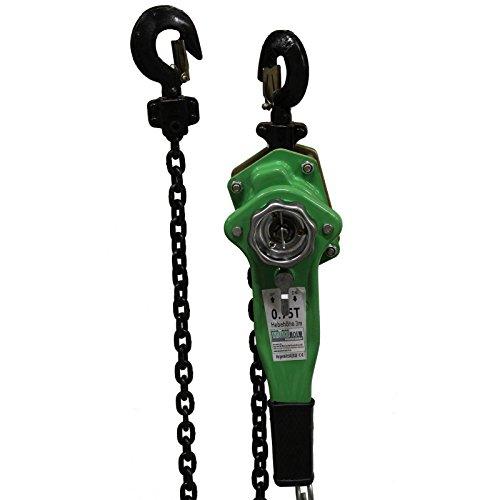 TrutzHolm® 0,75t 1,5t 3t 6t 3m Kettenlänge Ratschenzug Kettenzug Hebezug Hebelzug Flaschenzug verschiedene Modelle (750 kg)