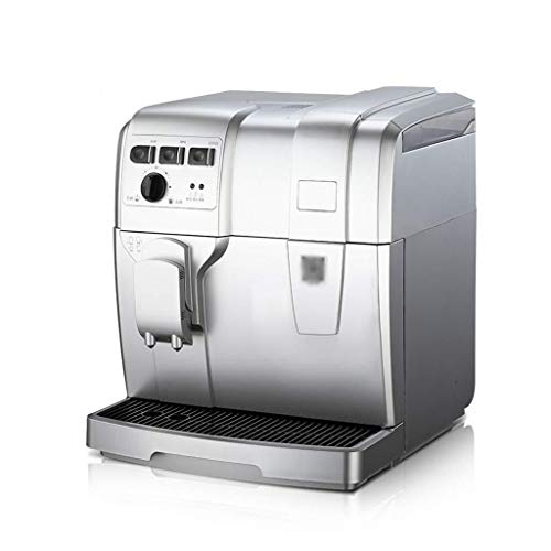 WHS. Kaffeemaschine Italienischen Stil Automatische Kaffeemaschine Kommerziellen Hochdruck-Dampfschäummaschine Mit Mahlbohnen 1,5L
