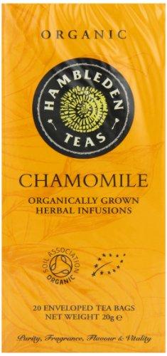 HAMBLEDEN HERBS Organic Chamomile Tea Bags 20g (PACK OF 6)