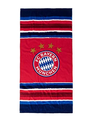 FC Bayern München Strandtuch Stripes 150 x 75cm