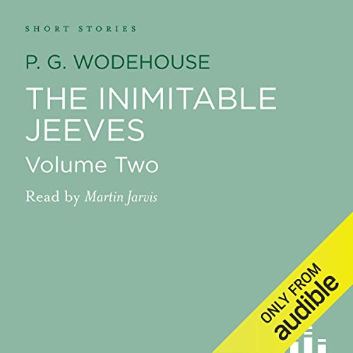 Couverture de The Inimitable Jeeves, Volume 2
