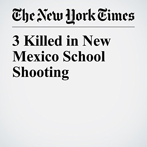 3 Killed in New Mexico School Shooting copertina