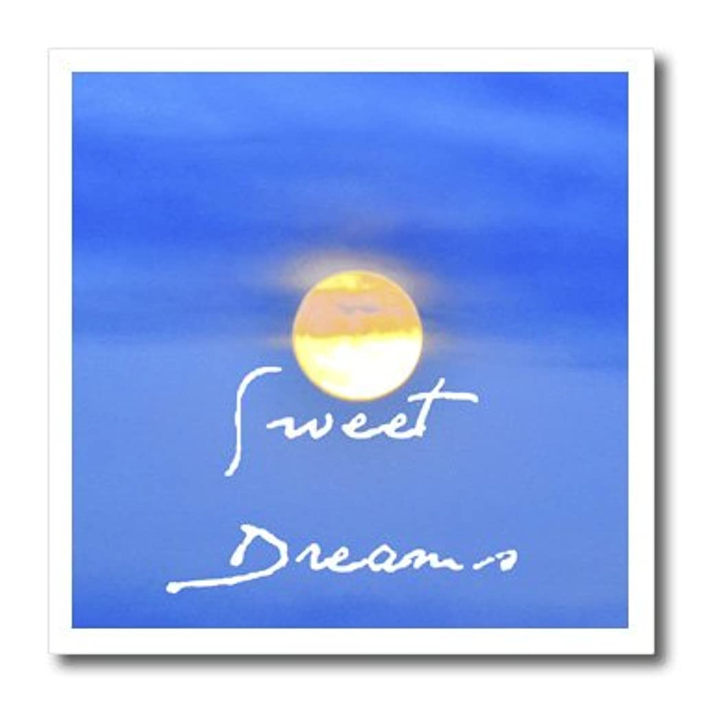 3dRose ht_49782_2 Sweet Dreams Night Moon Photography Iron on Heat Transfer Paper, 6 by 6-Inch