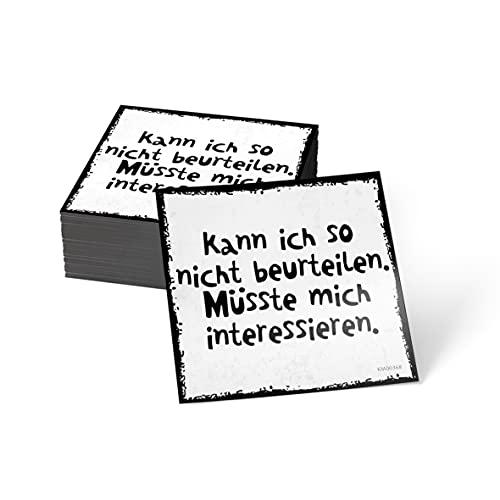 how about tee? Magnet-Sticker: Kann ich so Nicht beurteilen. - Kühlschrankmagnet mit Spruch