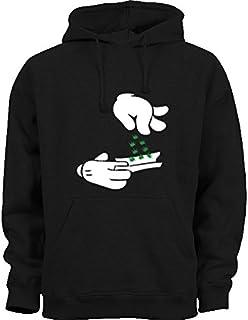 Impreso Unisex Veg la camiseta de ropa de invierno c/álido
