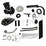 PEXMOR 2-Stroke 50cc Bicycle Engine Conversion Kit, Motorized Bike Cycle Gasoline Petrol Gas Motor Refit Kit Fuel-efficient For 26' Bikes (Black)