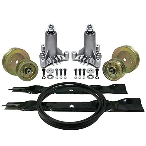 EPR Full Deck Rebuild Kit for Craftsman 42' LT1000 LT2000 130794 134149 144959 95 1/2' Belt 3 Bolt Spindle