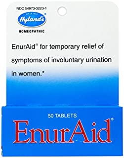 Hyland's EnurAid Bladder Control, Natural Relief of Urinary Incontinence in Women, 50 Quick-Dissolving Tablets