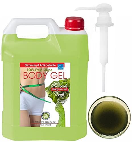 Meeresalgen Gel - Anti Cellulite Aktivierung packung ● Algen Aktivierungs-Packung bleumarine Bretania 1000ml