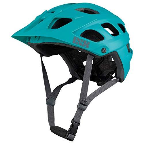 IXS RS EVO - Casco para Bicicleta de montaña para Adulto, Unisex, Lagoon, XS (49-54 cm)