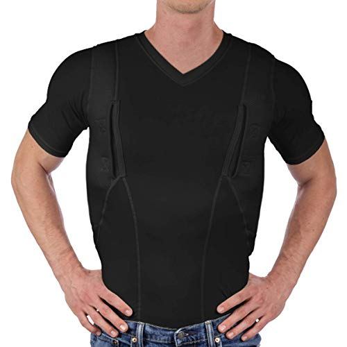 CCW Tactical Holster Shirt for Concealed Carry Compression...