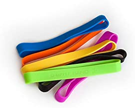 Grifiti Band Joes 6 inch Standard 20 Pack Assorted Colors Long Lasting Silicone Rubber Bands Hot Cold UV Outdoor Resistant Cooking Books Game Boxes Wrapping Dundling