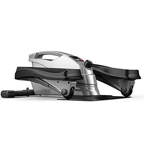 Mini elíptica de zancada Trainer - debajo del escritorio y parable bicicleta estática, paso a paso del pedal w / Resistencia y LCD ajustable Display, vendedor ambulante de ejercicio físico en Casa y O
